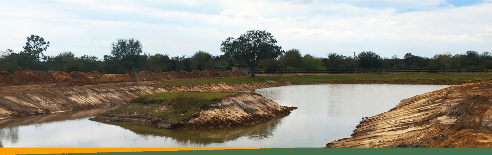Site development example in Myakka City, Florida